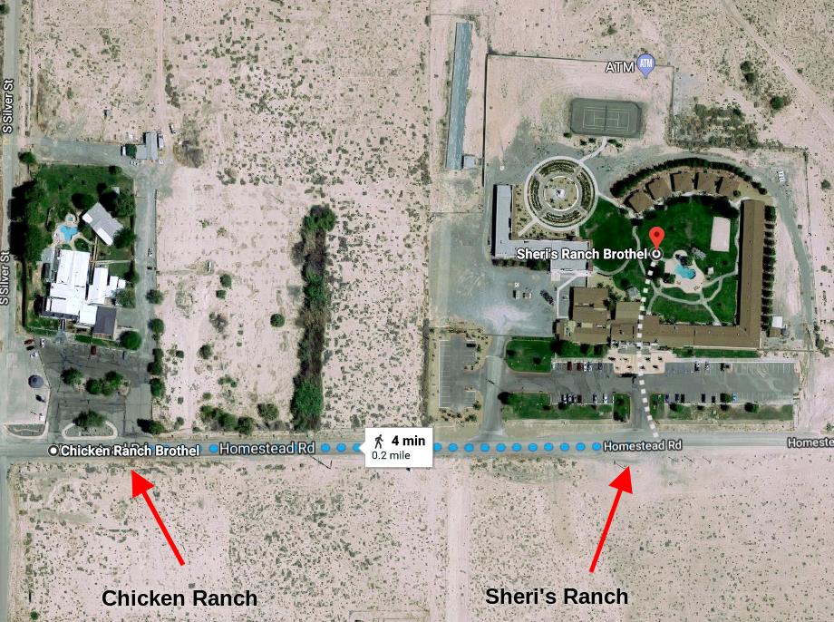 Chicken Ranch Sheri's Ranch